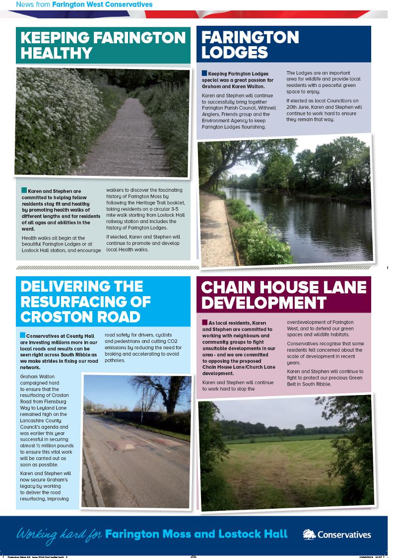 Farington West Leaflet Rear