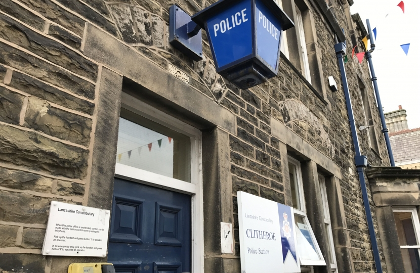 Clitheroe Police Station