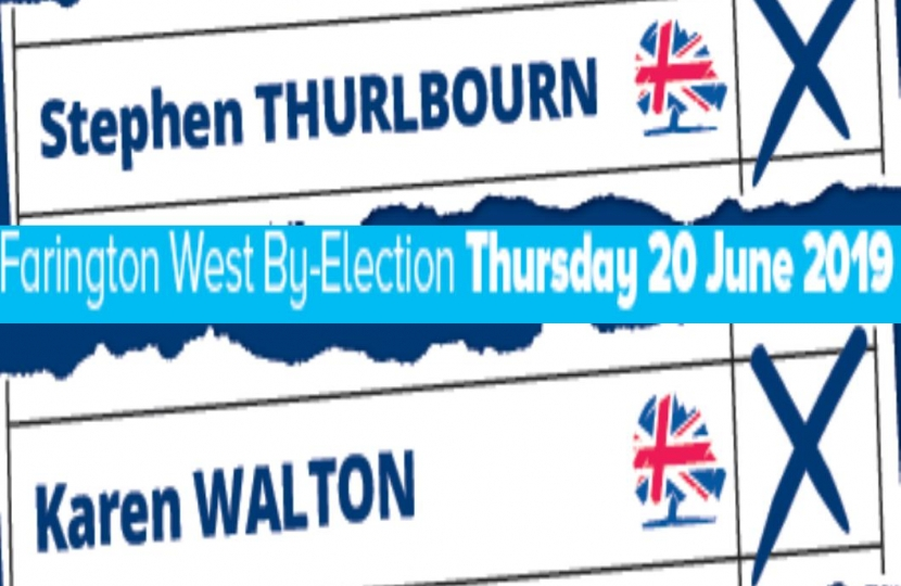 Farington West By-Election